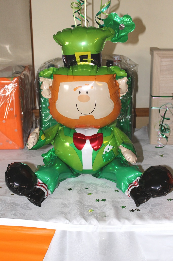 Funky Muppet Balloon Decorators - Cheeky Leprechaun